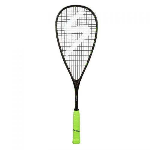 salming forza_pro_racket_black_fluogreen