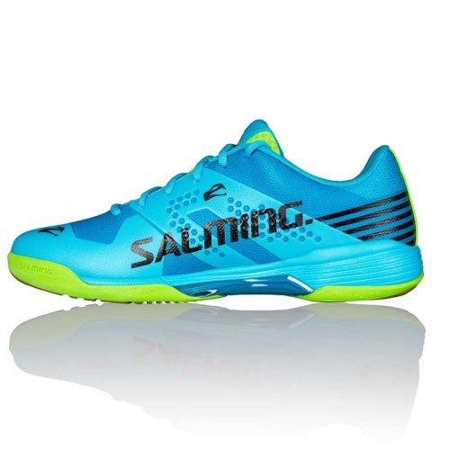 salming viper_5_men_shoe_lightblue_fluogreen.jpg 1
